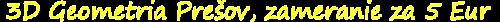 3D GEOMETRIA