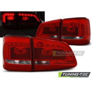Zadné svetlá LED pre VW TOURAN 08.10- RED WHITE LED