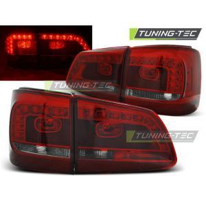 Zadné svetlá LED pre VW TOURAN 08.10- RED SMOKE LED