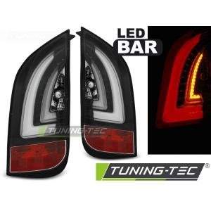 Zadné svetlá LED pre VW UP! 3.11- / SKODA CITIGO 12.11-  BLACK LED BAR